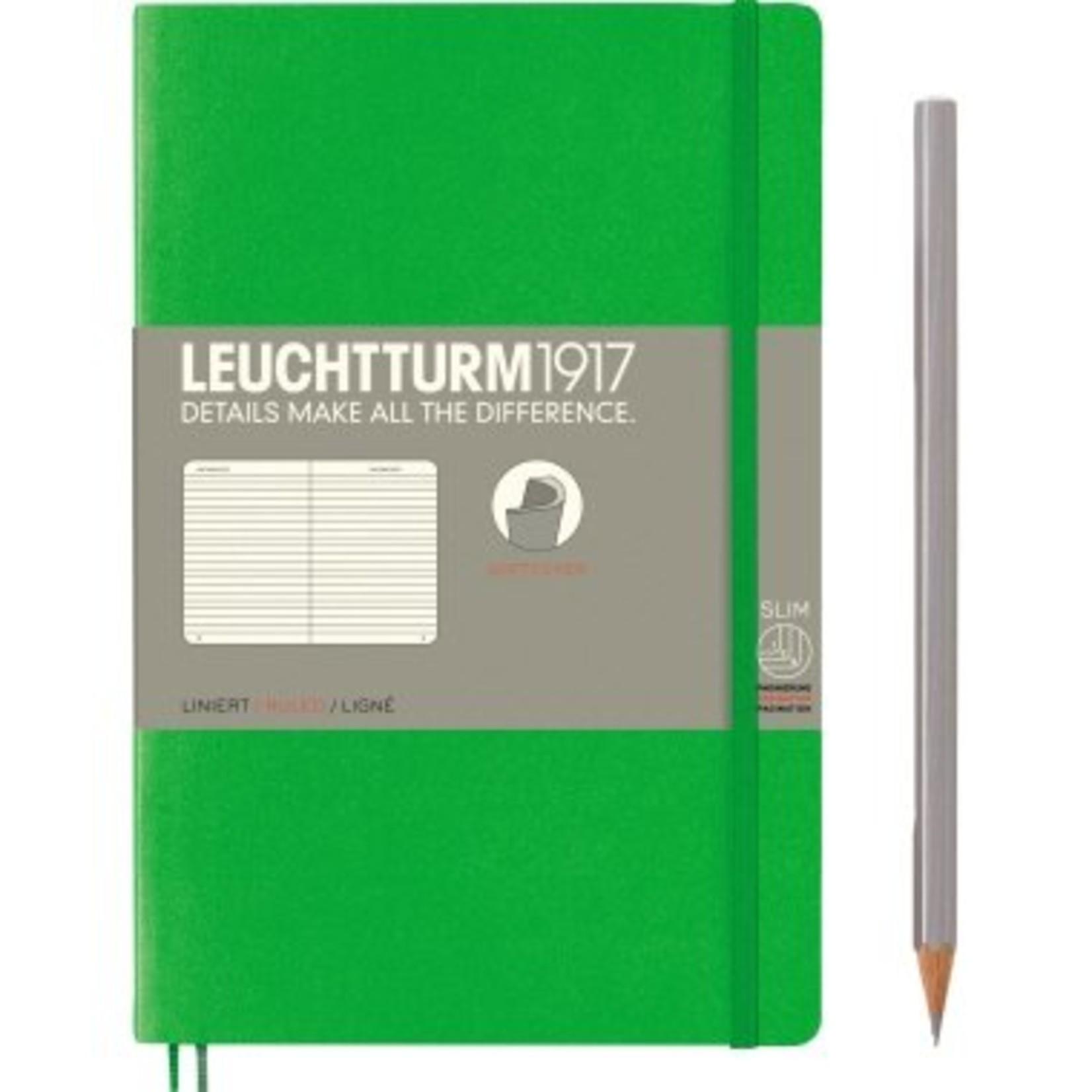 Leuchtturm LT NB B6 SC Paperback Fresh Green Liniert