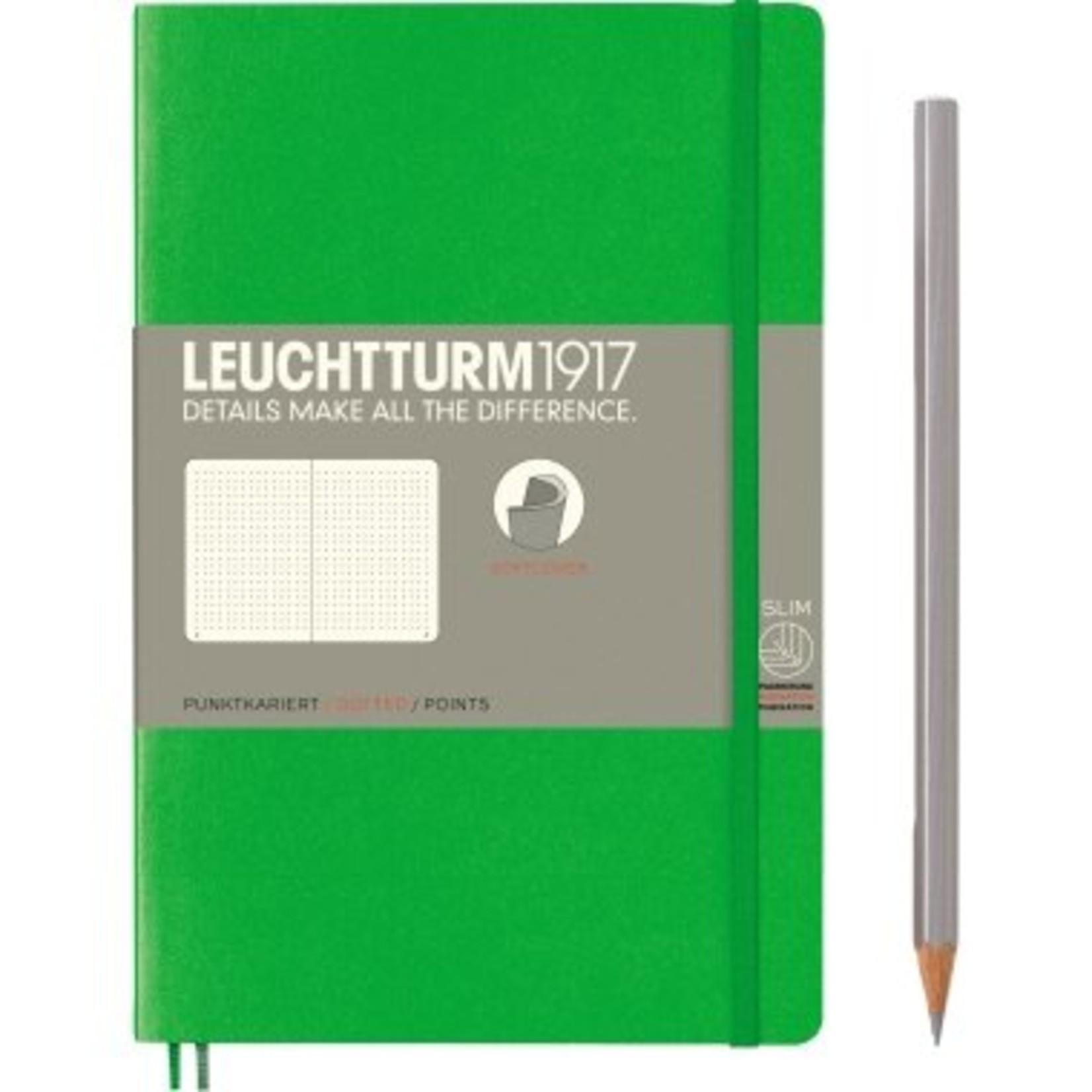 Leuchtturm1917 LT NB B6 SC Paperback Fresh Green Dotted