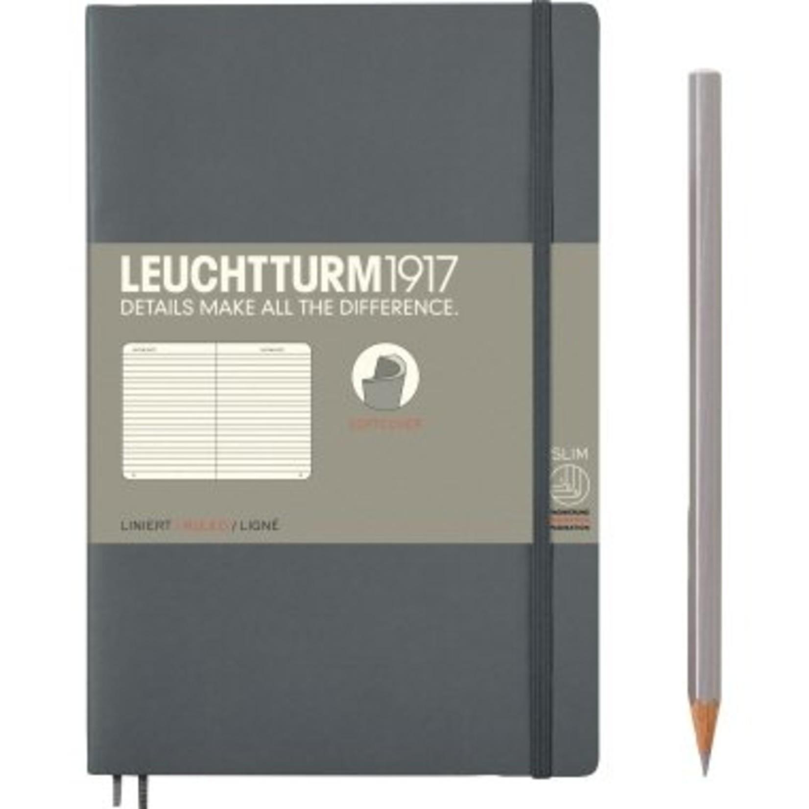 Leuchtturm1917 LT NB B6 SC Paperback Anthrazit Liniert