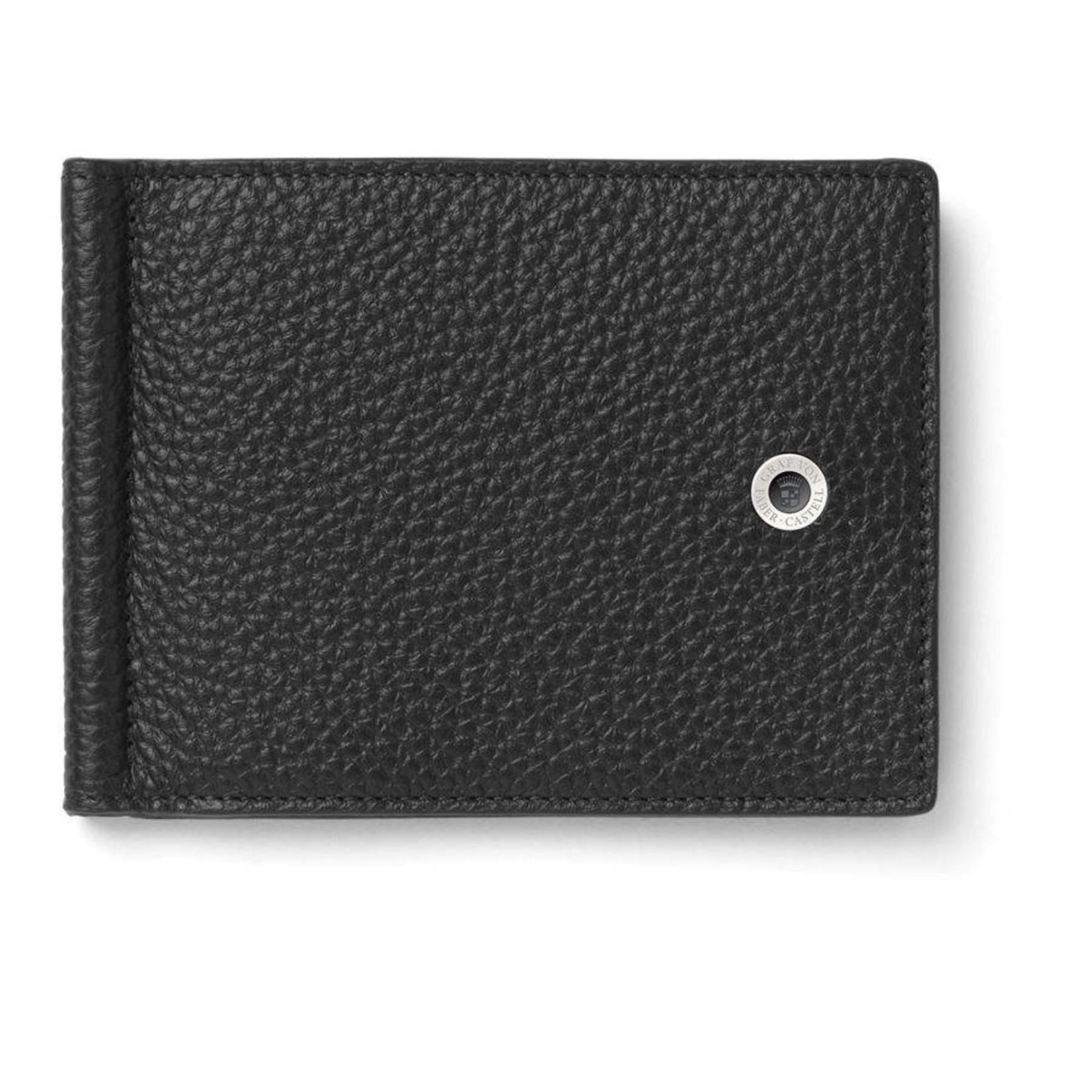 Graf von Faber-Castell Kartenetui mit Geldklammer Cashmere schwarz