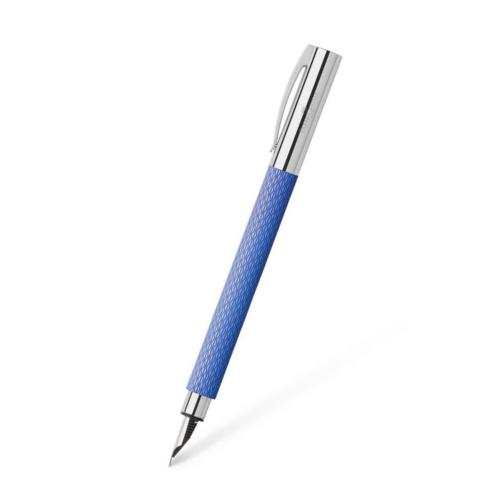 Faber-Castell AMBITION Füllfeder OpArt Blue Lagoon M