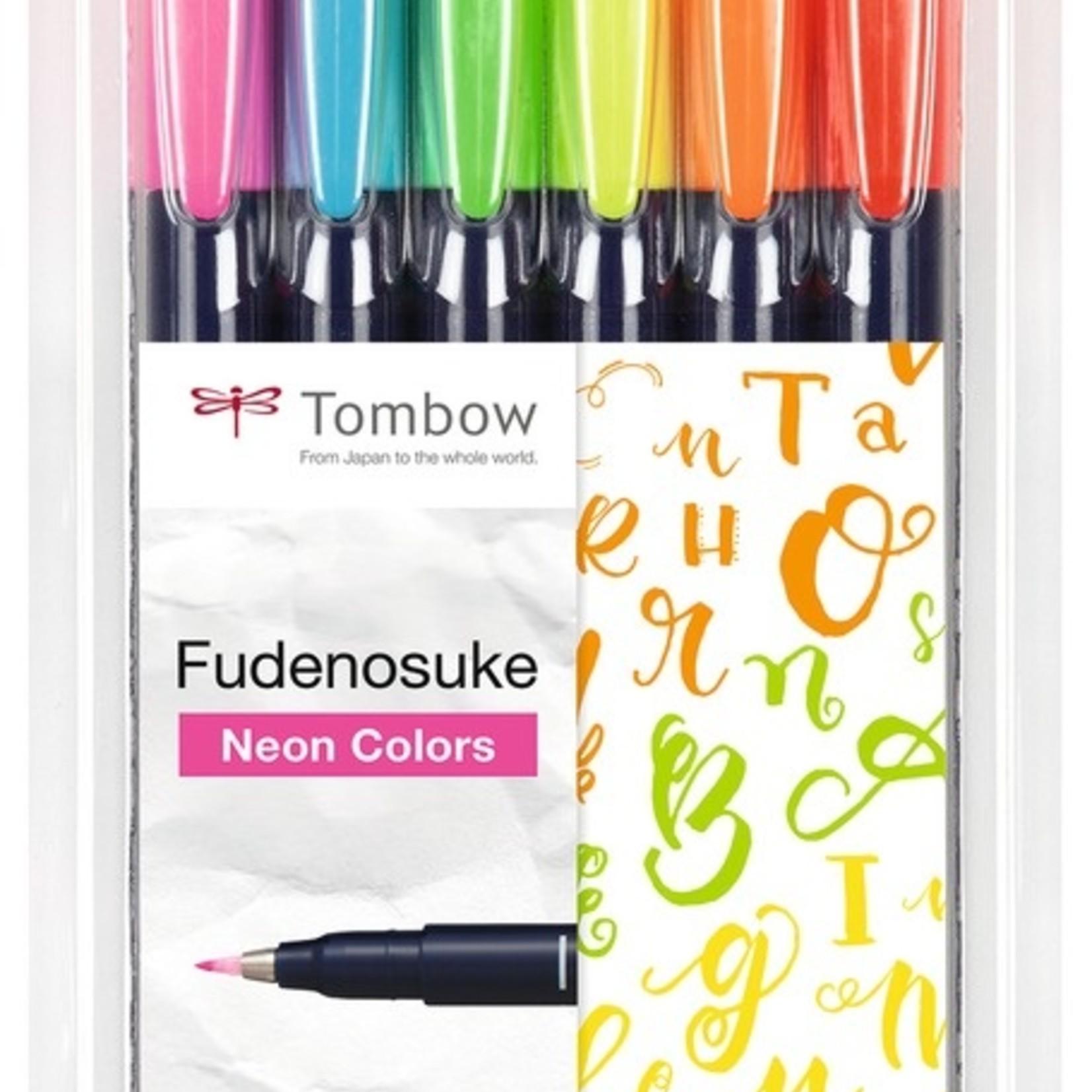 Geotec Fudensoke 6er SET NEONFARBEN