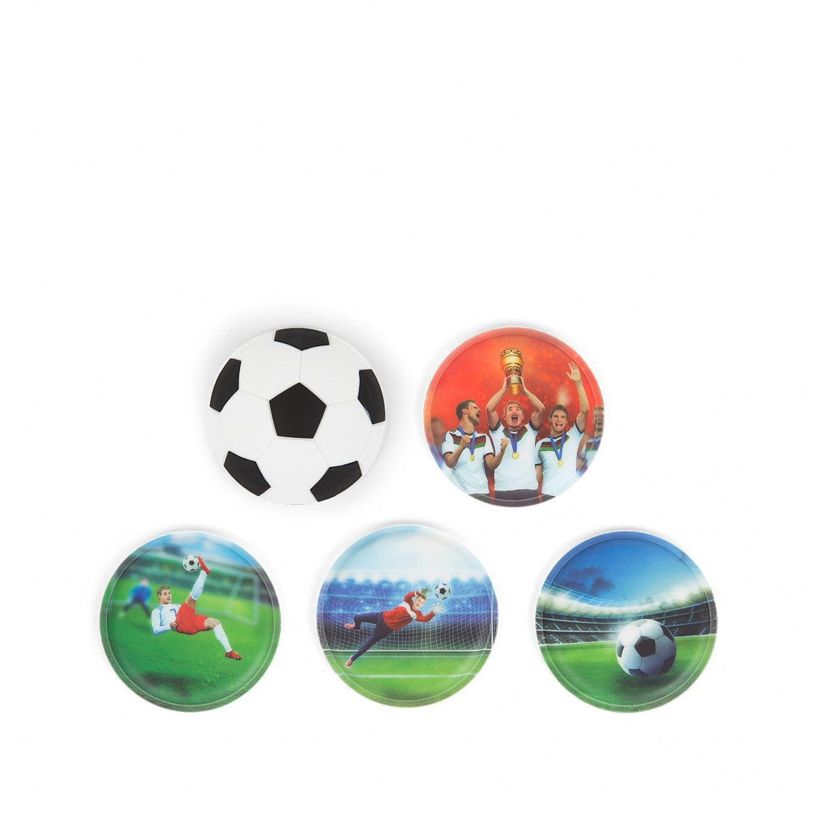 ERGOBAG KLETTIES SPECIAL EDITION 5Stk FUSSBALL