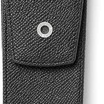Faber-Castell GvFC Stecketui für 2 Schreibgeräte schwarz genarbt