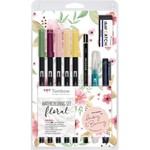 Geotec Tombow Watercoloring Set Floral