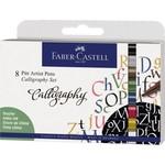 Faber-Castell Tuschestift Pitt Artist Pen Calligraphie Set  8STK