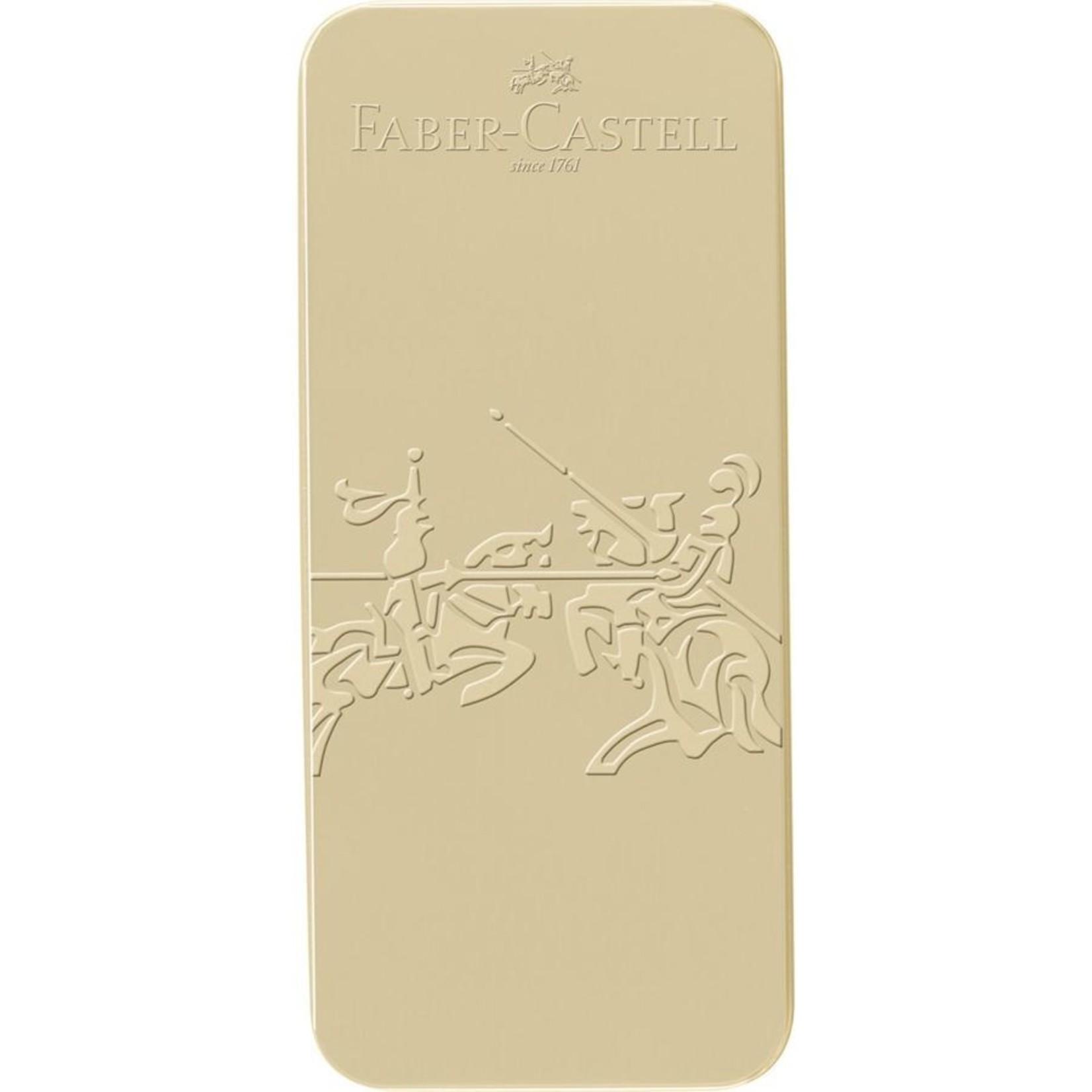 Faber-Castell Grip Edition Geschenkset Gold Füllhalter +Kugelscheiber