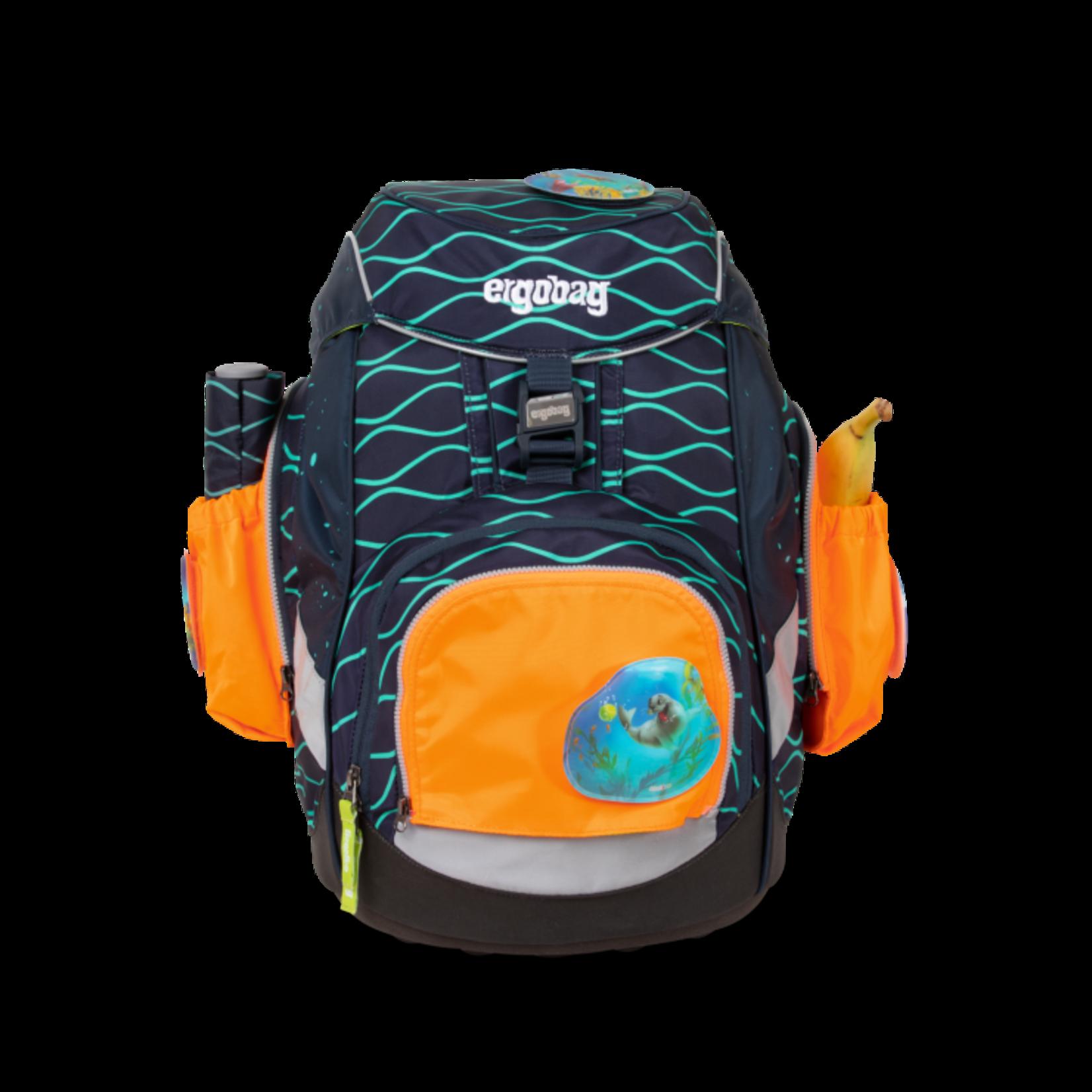 ERGOBAG Ergobag Seitentaschen-ZIP Set orange  fluoreszierend 3tlg