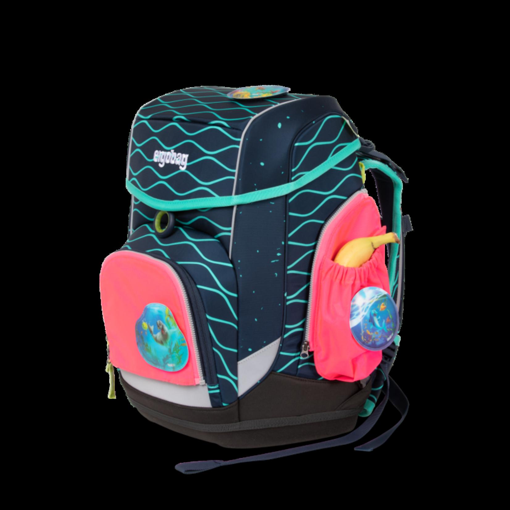 ERGOBAG Ergobag Seitentaschen-ZIP Set pink  fluoreszierend 3tlg