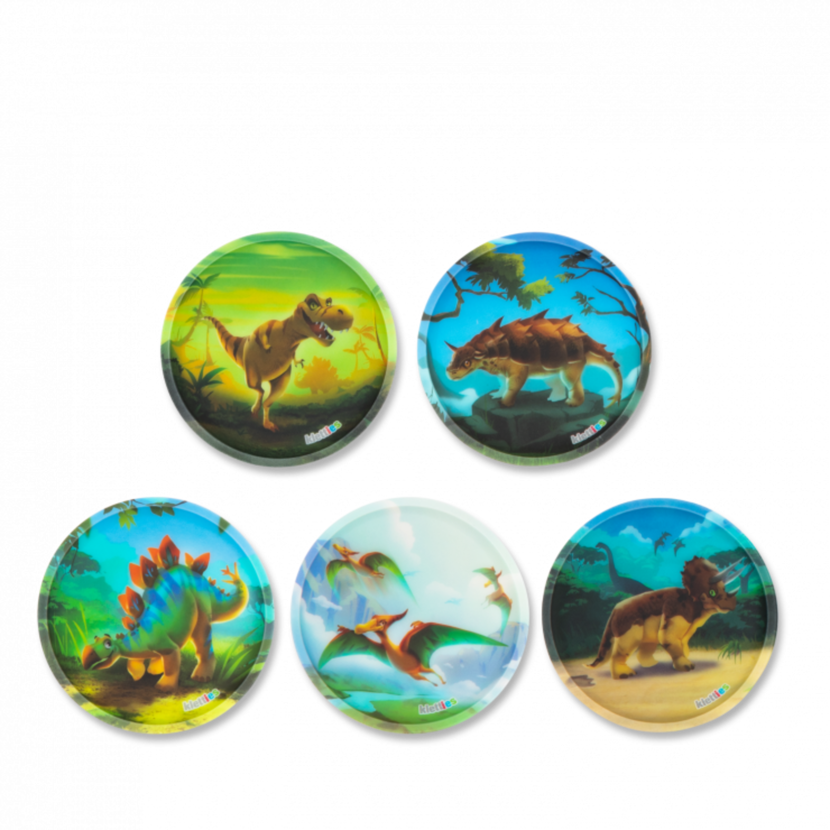 ERGOBAG ERGOBAG KLETTIE SET 5tlg Dinosaurier 20