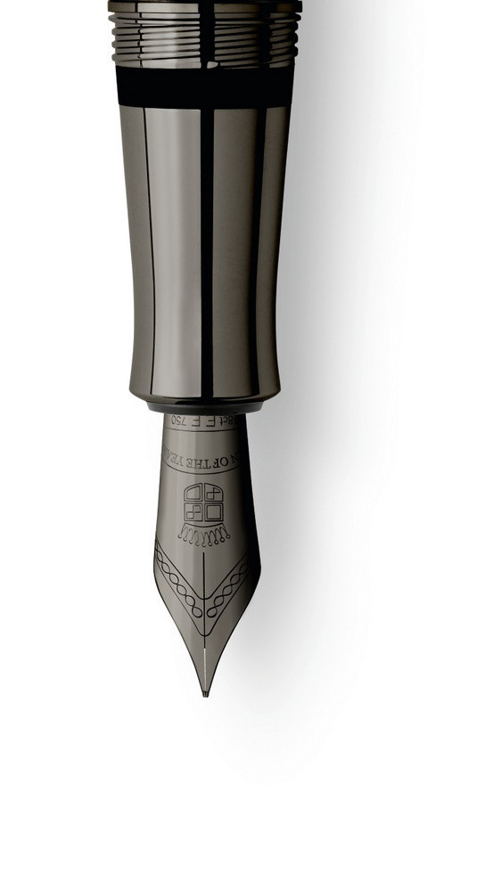 Faber-Castell Graf von Faber Castell Pen of the year 2020 Füllhalter Black Edition