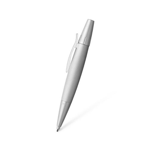 Faber-Castell FC E-MOTION Drehbleistift Pure Silver