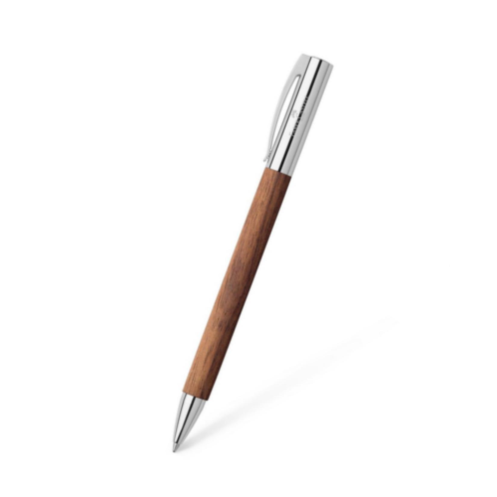 Faber-Castell AMBITION Kugelschreiber Nussbaum