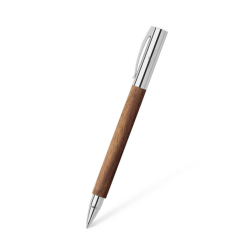 Faber-Castell AMBITION Tintenroller Nussbaum