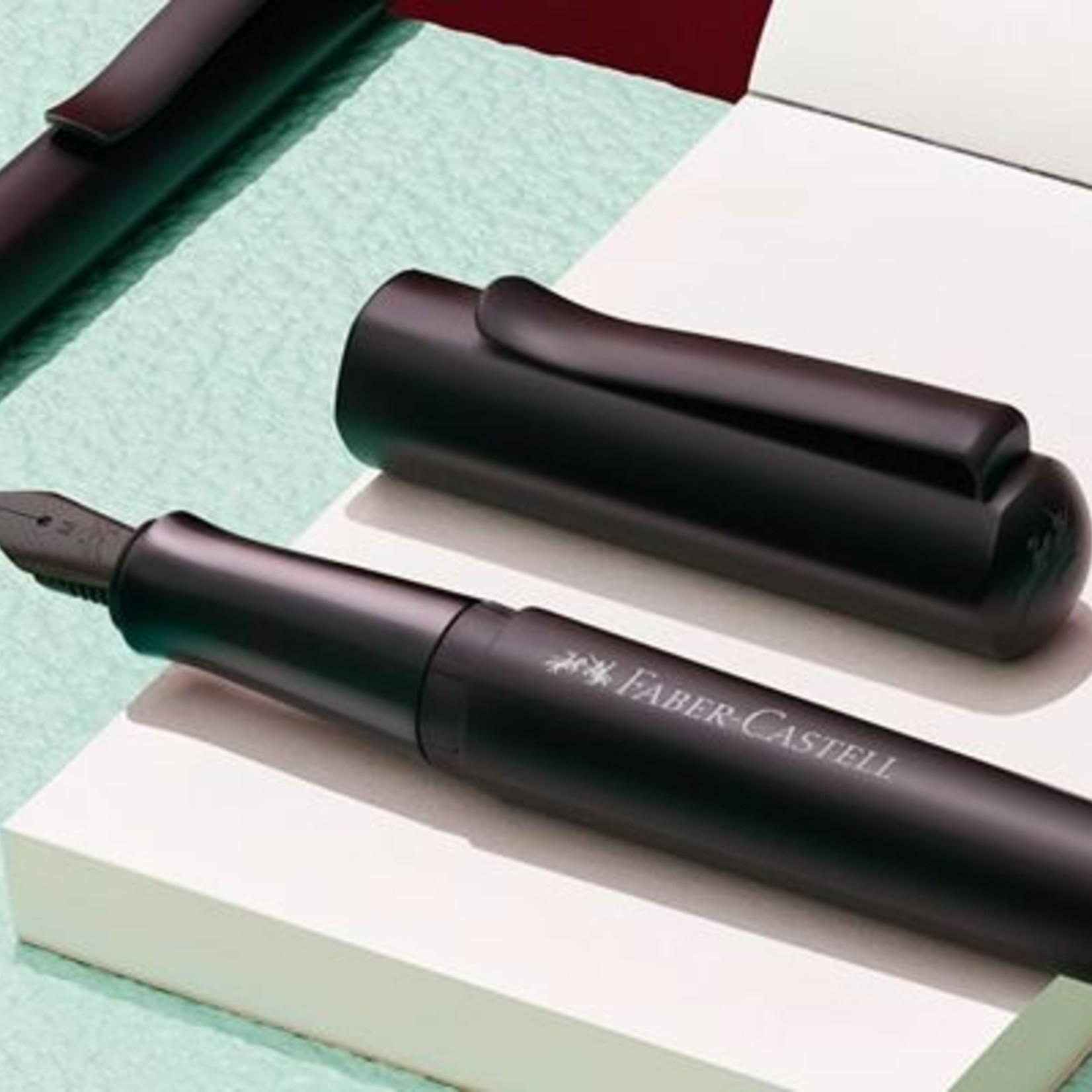 Faber-Castell Faber Castell Füllhalter HEXO schwarz Medium