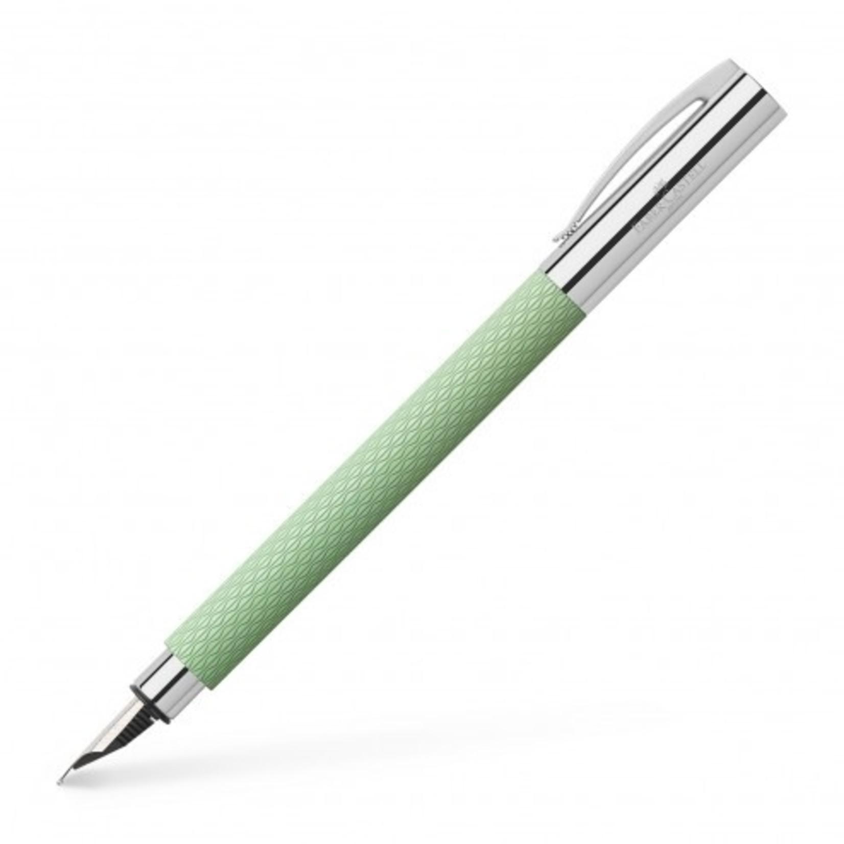 Faber-Castell Faber Castell AMBITION Füllfeder OpArt Mint green Medium
