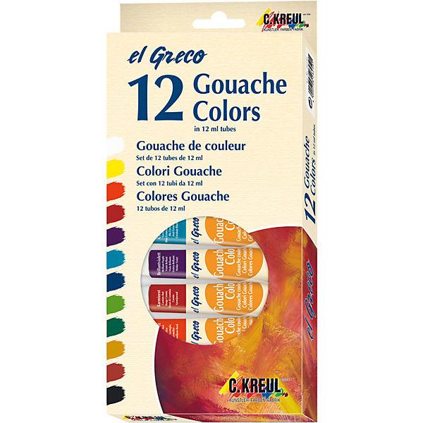 C.KREUL GmbH&Co.KG ElGreco Gouache Set 12Stk 12ml