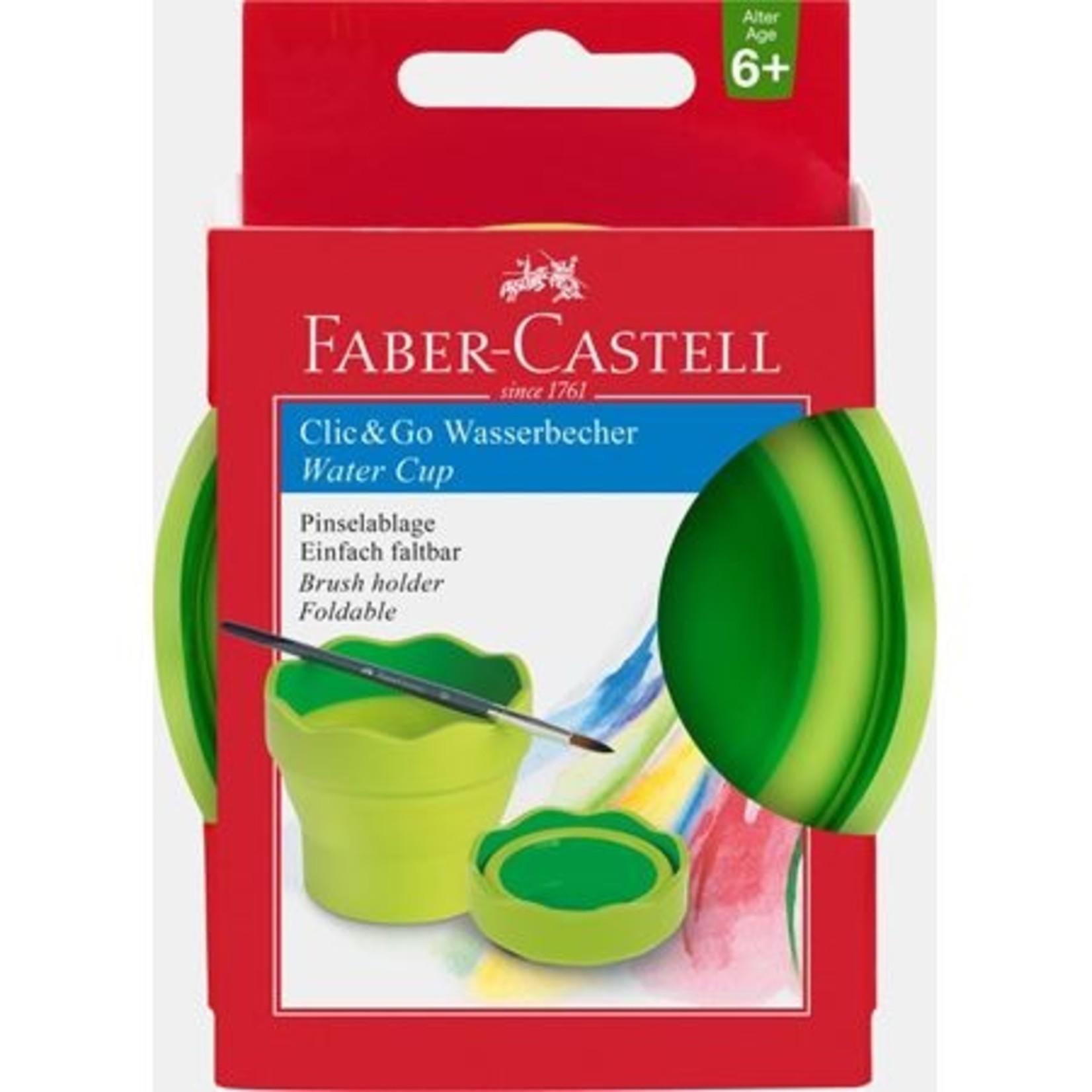 Faber-Castell CLIC&GO Wasserbecher hellgrün