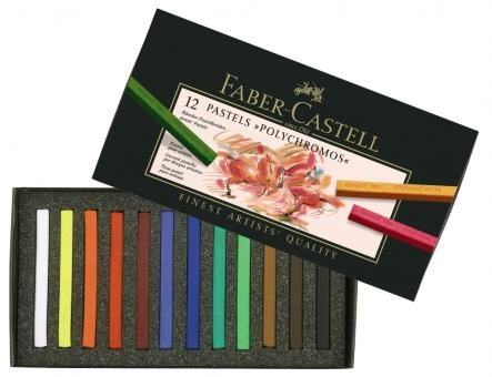 Faber-Castell Faber Castell Pastellkreiden 12Stk