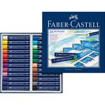 Faber-Castell FC Öl-Pastellkreide 24-er Studio Quality