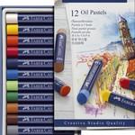 Faber-Castell FC Öl-Pastellkreide 12-er Studio Quality