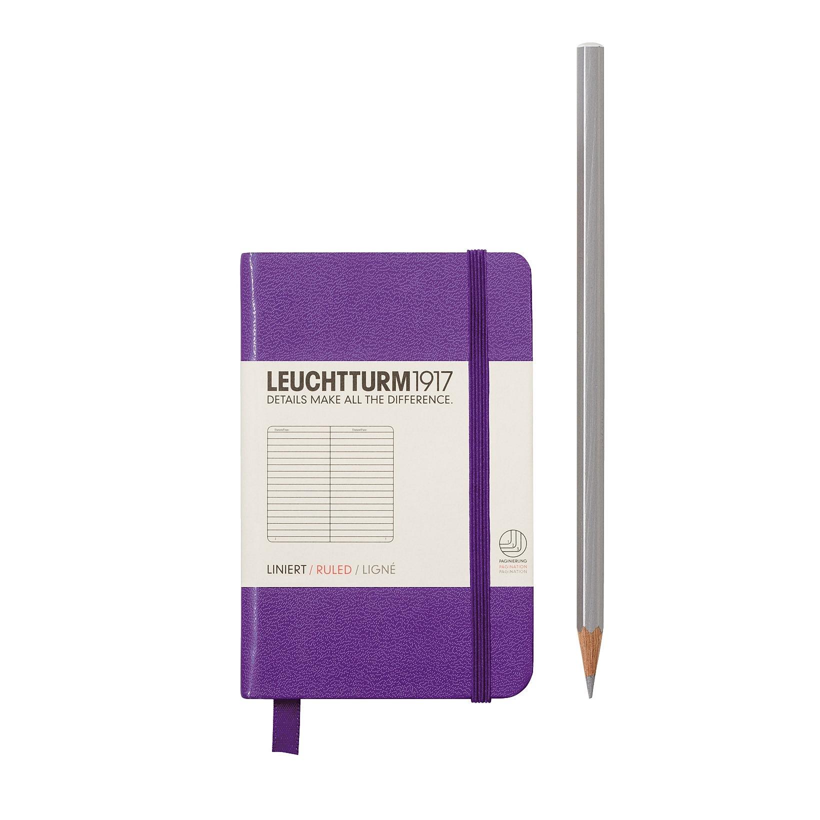 Leuchtturm Notizbücher A7 MINI