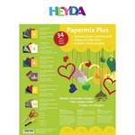 HEYDA Bastelbox Papermix 25x35 34tlg