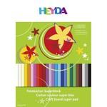 HEYDA Fotokarton Superblock 24x34cm 300g,25Blatt