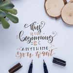 STÖGER HAND/BRUSH Lettering Kreativ Paket*