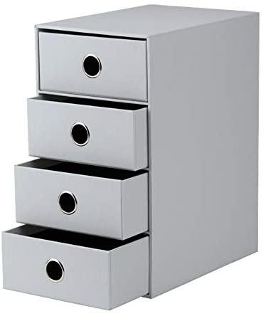 Rössler SOHO Schubladenbox 4x A5,3cm stone