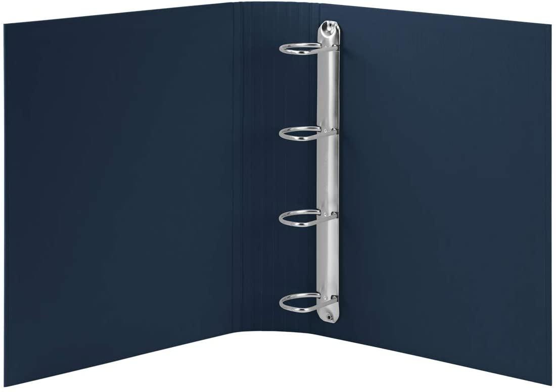 Rössler SOHO Ringbuch A4/4R 5cm navy