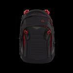 SATCH Fire Phantom Match | Rot-Schwarz | Schultasche von Satch