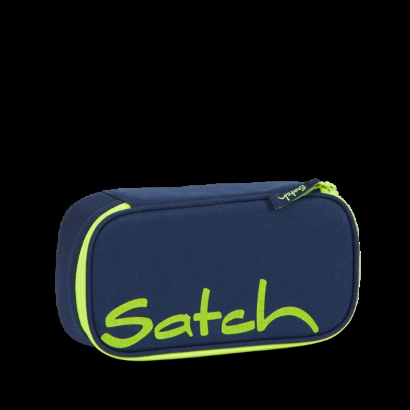 SATCH Toxic Yellow | Duneklblau-Gelb | Federpenal von Satch