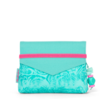 SATCH Aloha Mint | Mint-Weiß | Beauty Wallet von Satch