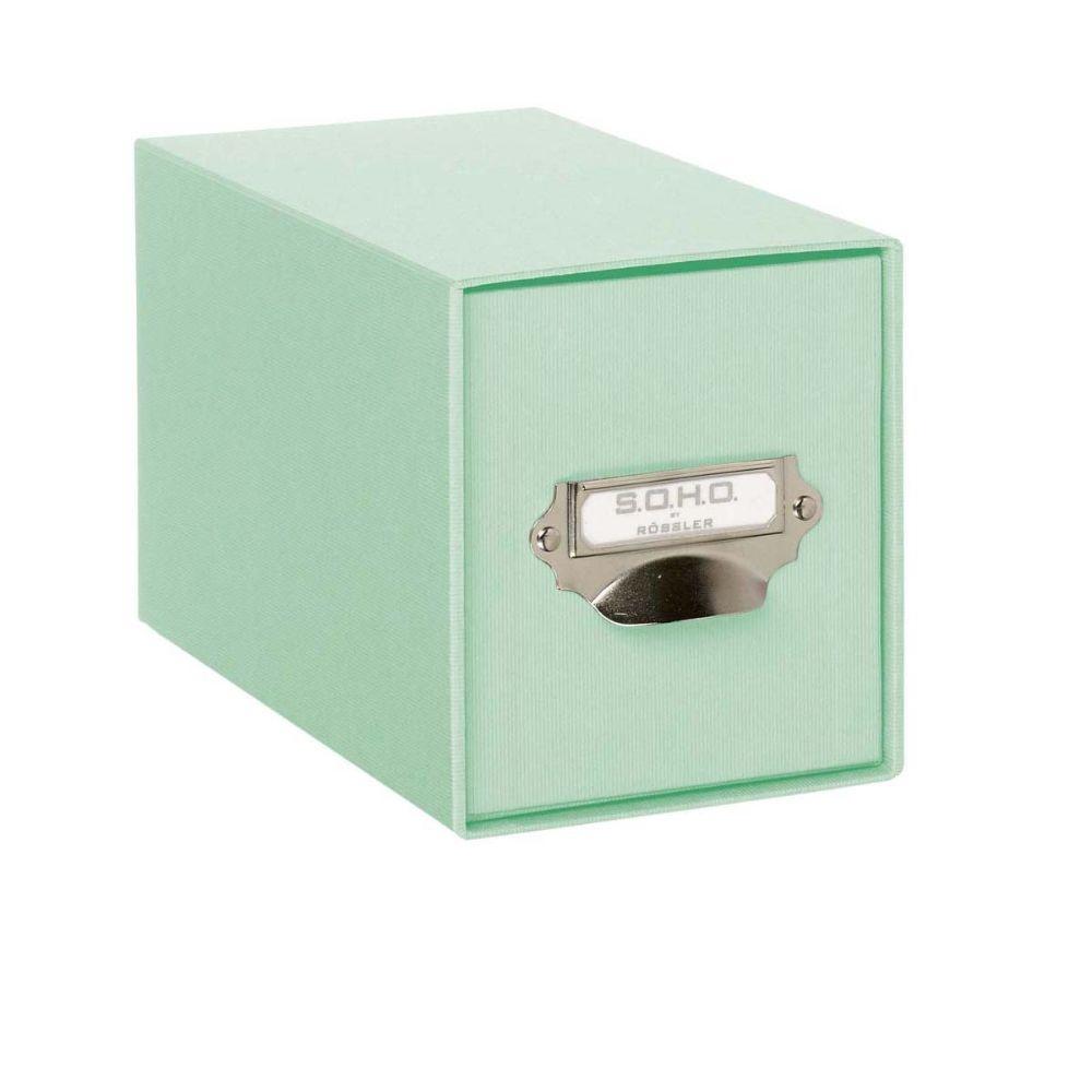 Rössler SOHO CD-Schubladenbox m. Griff mint