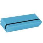 Rössler SOHO Stiftebox mit Gummizug pacific