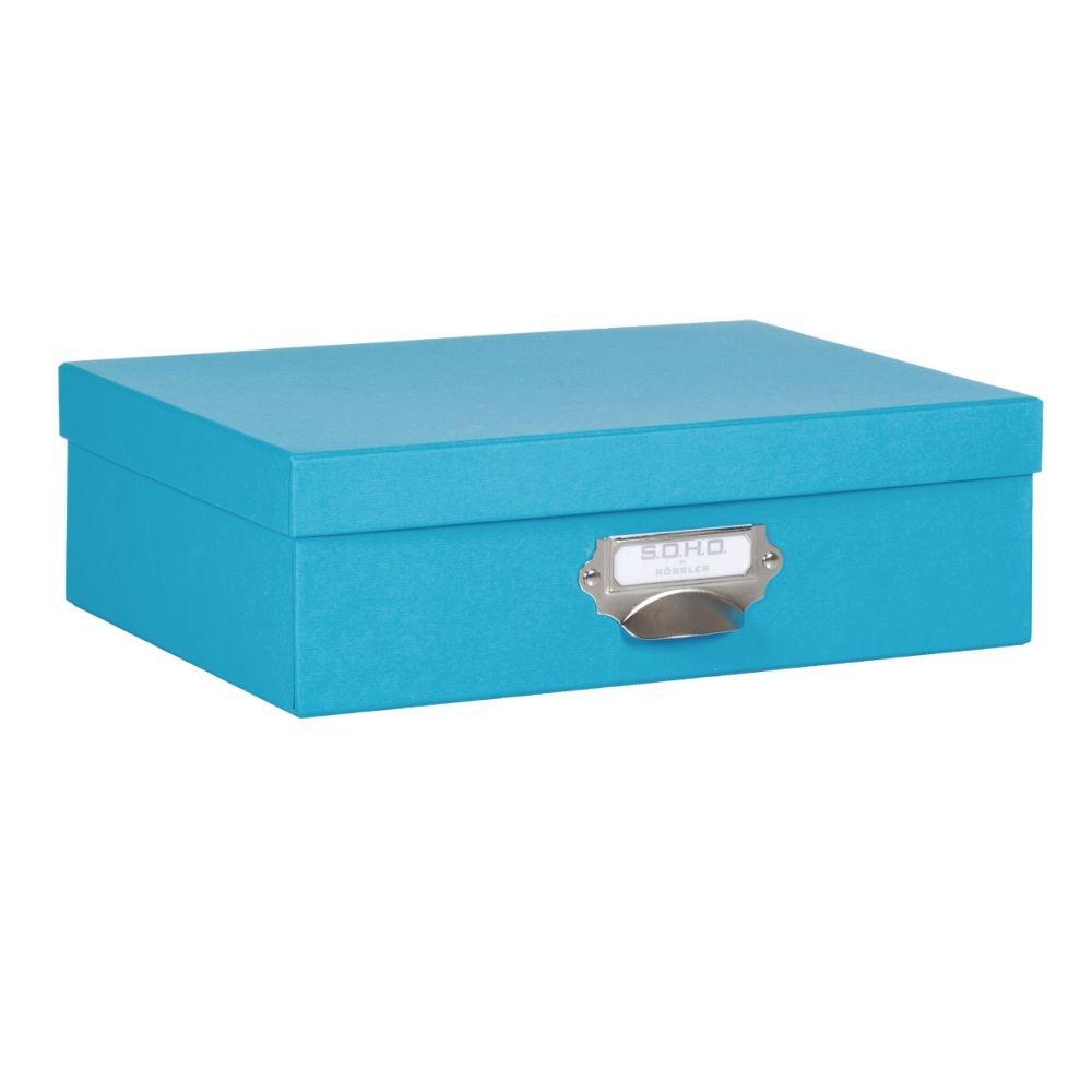Rössler SOHO Aufbewahrungsbox mit Griff pacific