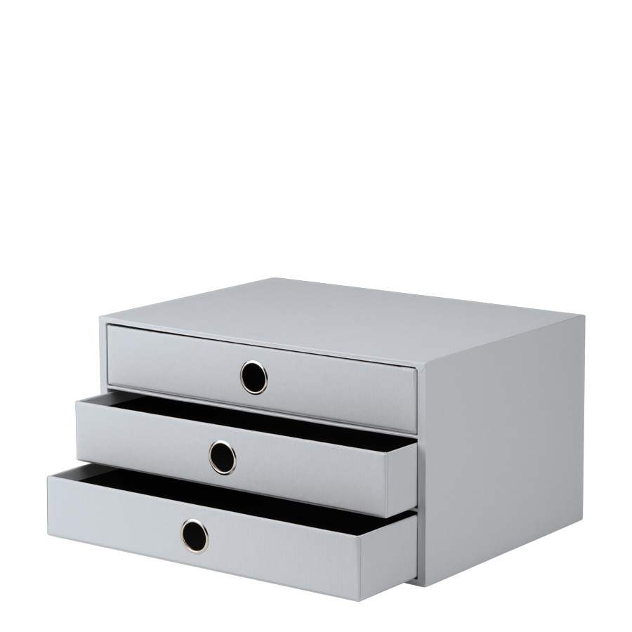 Rössler SOHO Schubladenbox stone 3er