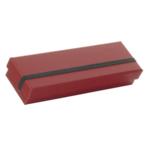 Rössler SOHO Stiftebox mit Gummizug rot