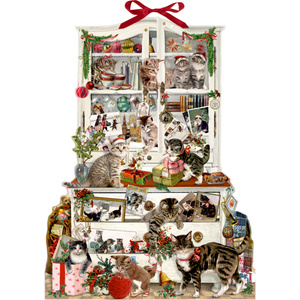 Coppenrath Zettelkalender: Katzen im Advent