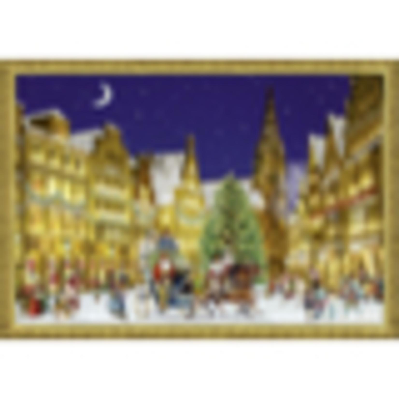 Coppenrath A4 Wandkalender: Weihnacht in der Stadt