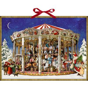 Coppenrath Adventskalender: Nostalgisches Weihnachtskarussell