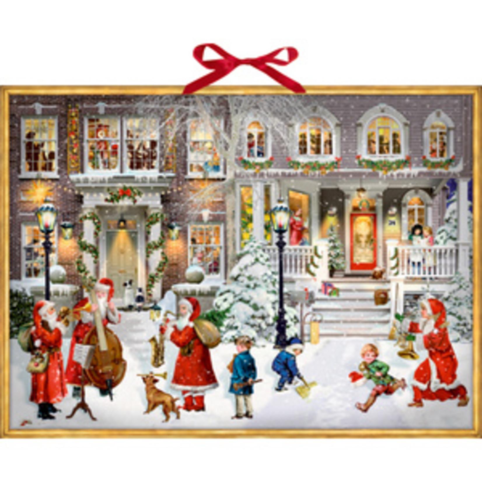 Coppenrath Adventskalender A3 mit Sound: Having a Wonderful Christmas Time