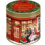 Coppenrath Schöner Advent - 24 besinnliche Weihnachtsverse, Adventskalender-Sprüchedose (Behr)