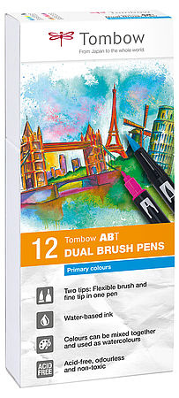 Tombow ABT PRO 12er-Set Basic Colors