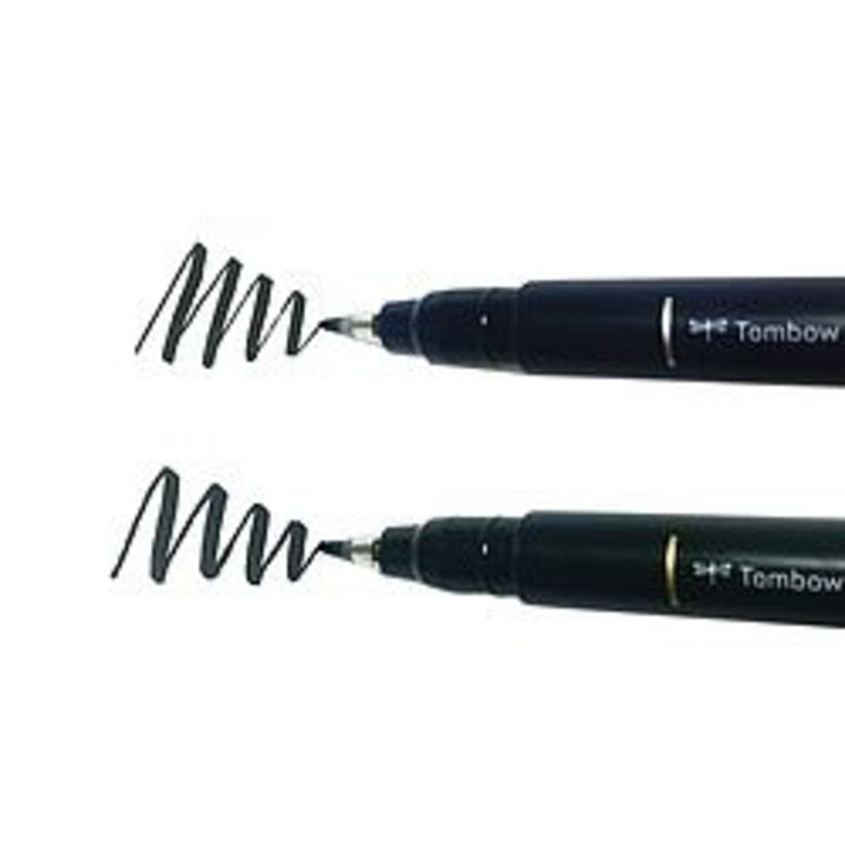 Tombow Fudenosuke Pen, weiche Spitze, schwarz