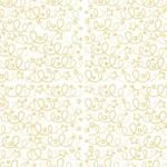 Artebene Papier/70x100cm/Finest Paper/Kringel/ weiß/gold