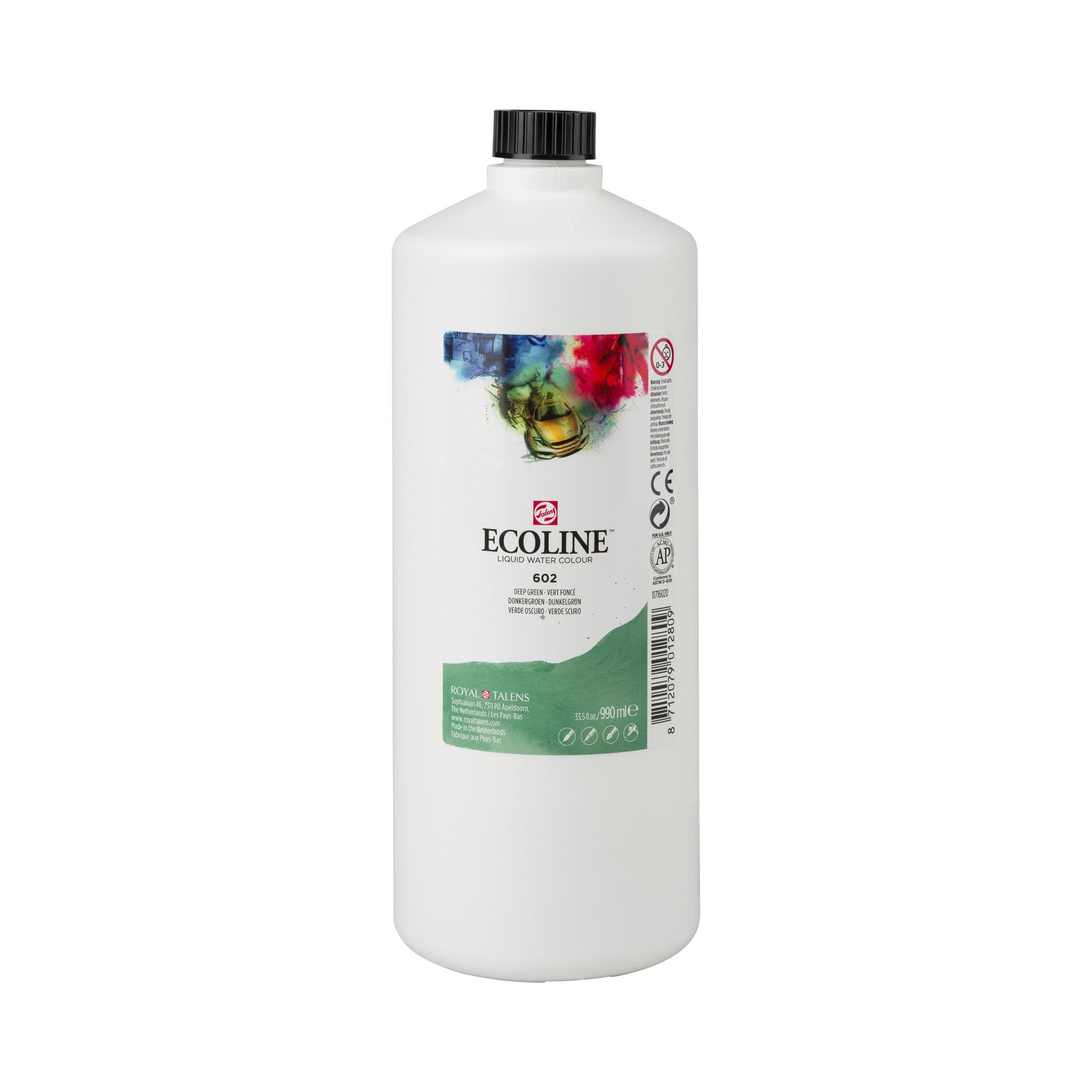 Ecoline Ecoline Flüssige Wasserfarbe 990 ml dunkelgrün