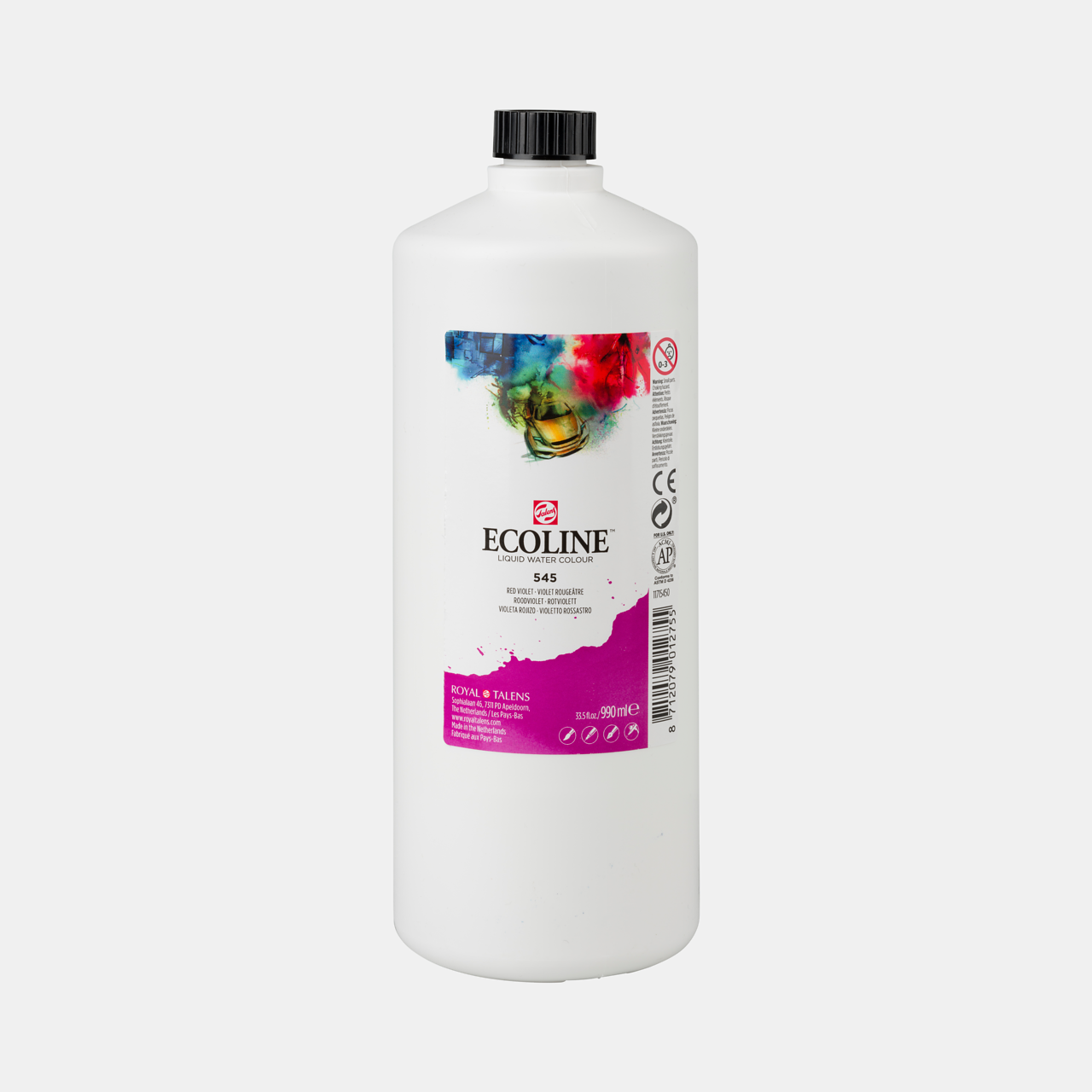 Ecoline Ecoline Flüssige Wasserfarbe 990 ml Rotviolett