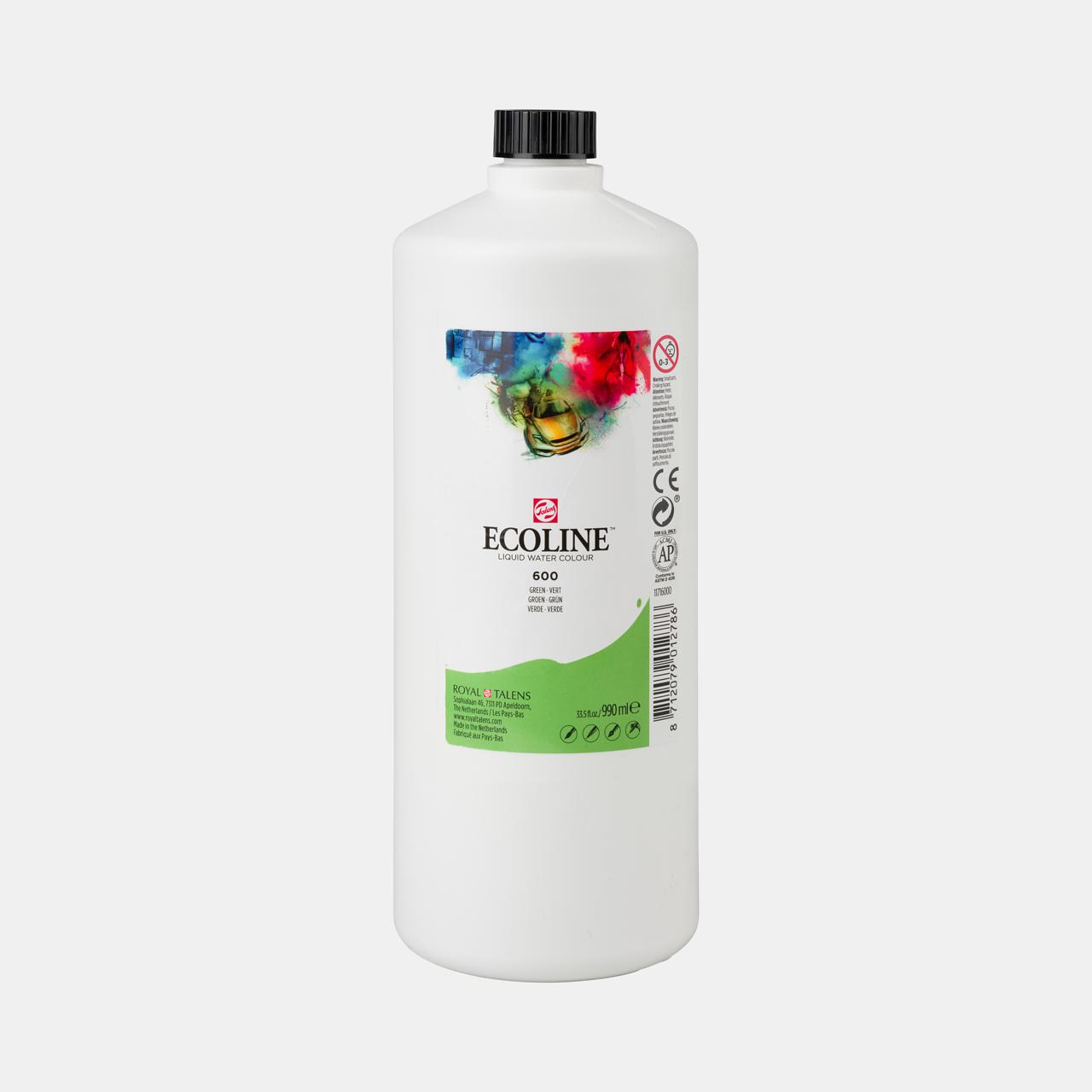 Ecoline Ecoline Flüssige Wasserfarbe 990 ml Grün